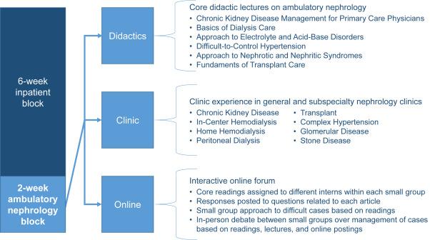 An Interactive Ambulatory Nephrology Curriculum for Internal