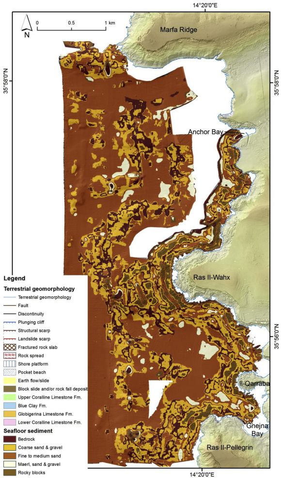 Habitat mapping of the Maltese continental shelf using acoustic