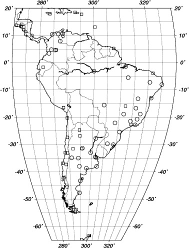 South American Regional Ionospheric Maps Computed By Gesa A Pilot