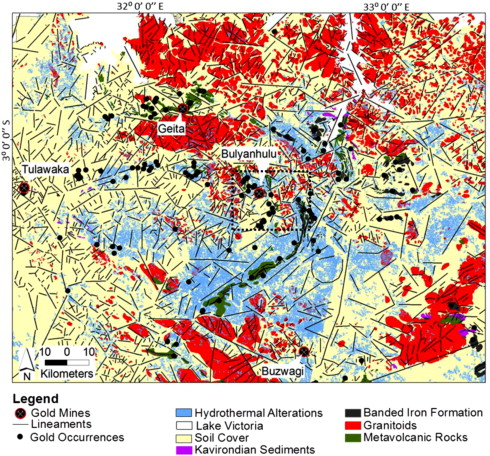 Identification of hydrothermal paleofluid pathways, the