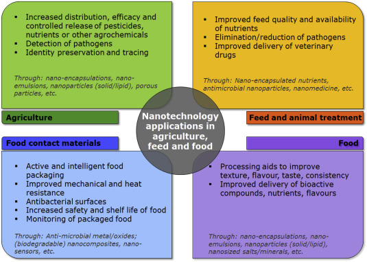Regulatory aspects of nanotechnology in the agri/feed/food