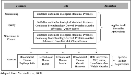 Biosimilars: A consideration of the regulations in the United States