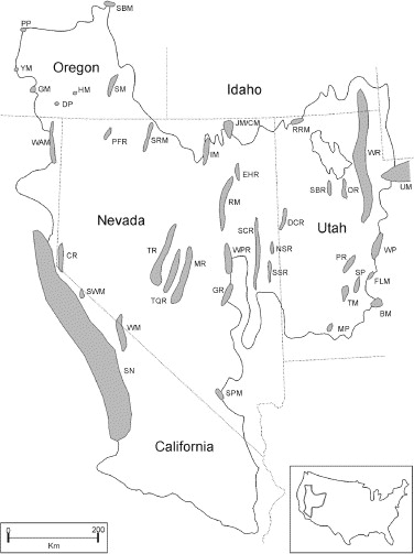 Glaciation In The Great Basin Of The Western United States