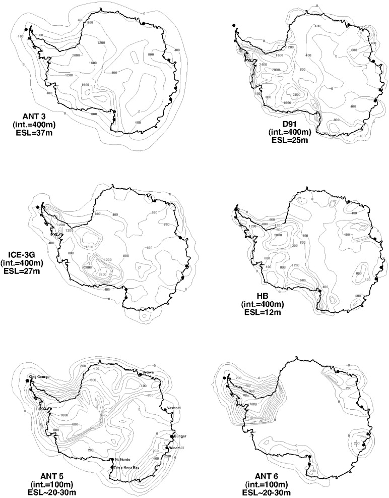 The Antarctic Ice Sheet During The Last Glacial Maximum And Its