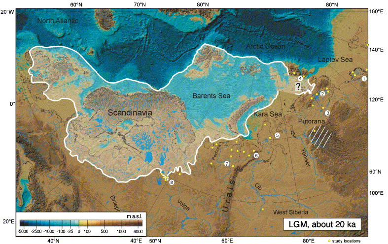 The periglacial climate and environment in northern Eurasia ...