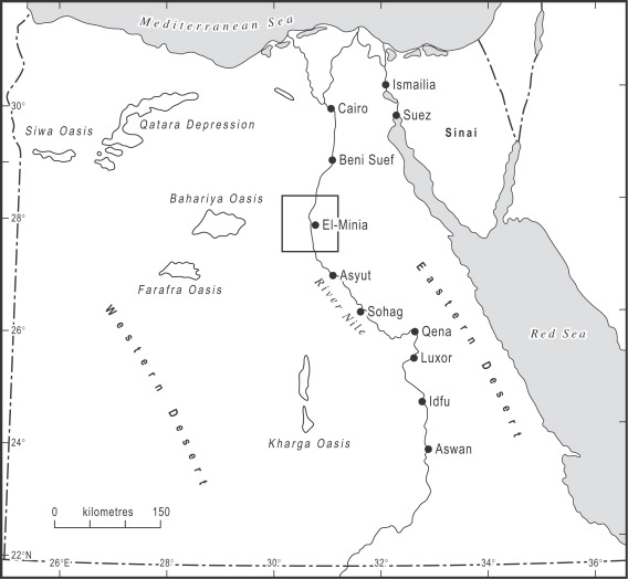 Pleistocene Evolution Of The Nile Valley In Northern Upper Egypt