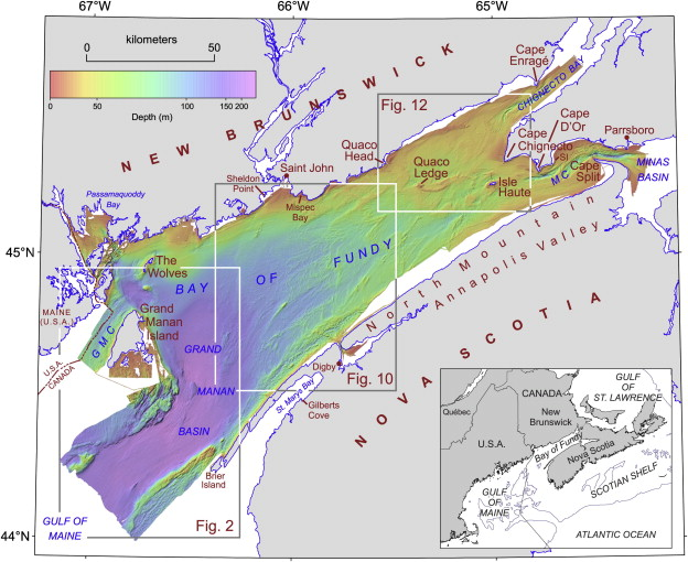 Laurentide Ice Sheet dynamics in the Bay of Fundy Canada revealed