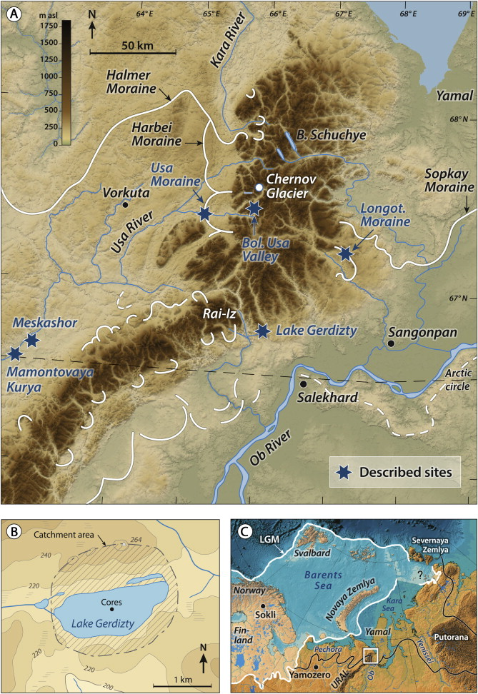 Glacial and vegetation history of the Polar Ural Mountains in ...