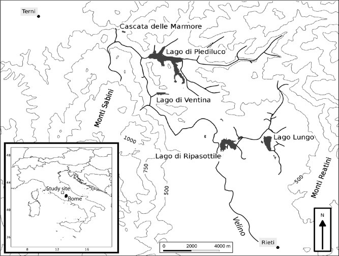 2700 Years Of Mediterranean Environmental Change In Central Italy A