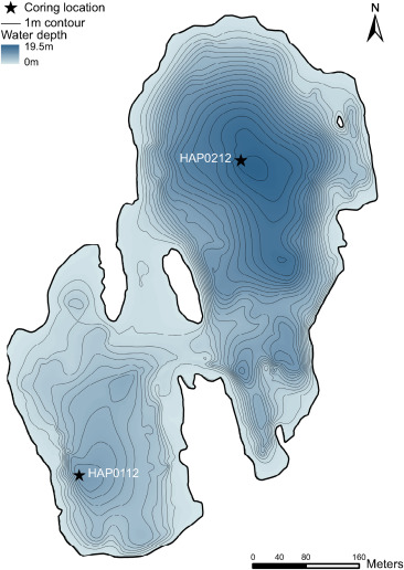 Reconstruction of glacier variability from lake sediments