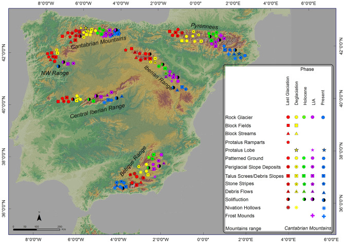 Spatial And Temporal Variability Of Periglaciation Of The