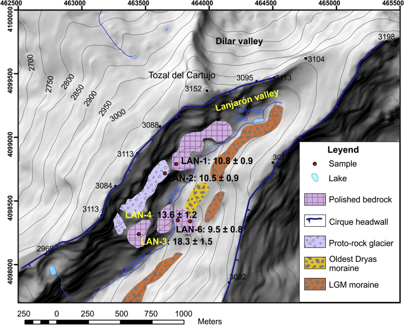 Timing And New Geomorphologic Evidence Of The Last Deglaciation