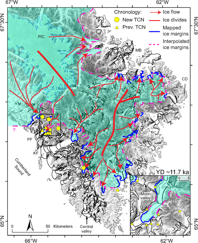 Wisconsinan and early Holocene glacial dynamics of ...
