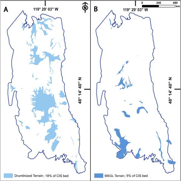 Ice streams of the Late Wisconsin Cordilleran Ice Sheet in