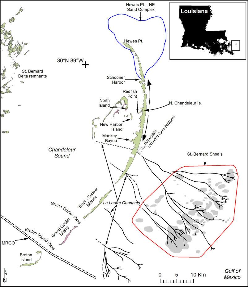 Coastal Barriers Northern Gulf