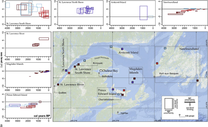 Late Holocene sea-level changes in eastern Québec and potential
