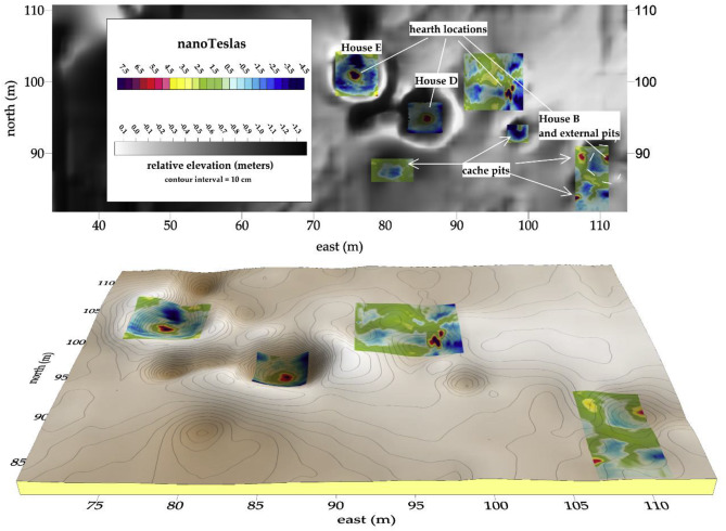Magnetic detection of archaeological hearths in Alaska: A tool for