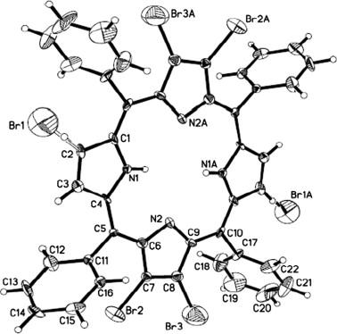 Tetra Brominated Meso Tetraphenylporphyrin A Conformational Study