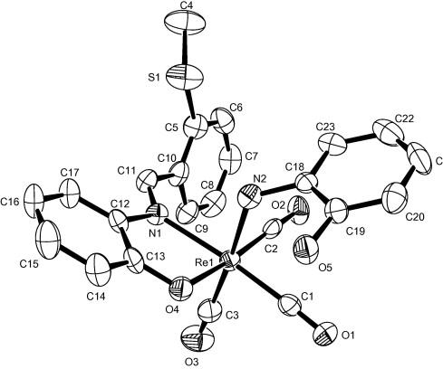 Rheniumi Iii And V Complexes Of Tridentate Onx X O N S