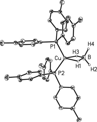 Stacking Motifs In The Crystal Structures Of Bisphosphine Copper