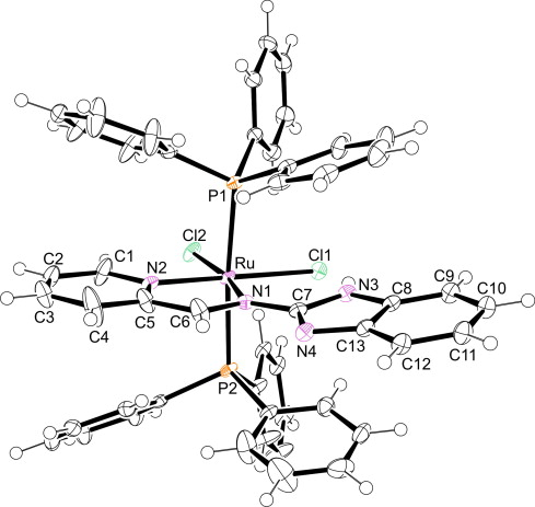 Ruthenium Complexes With Schiff Base Ligands Containing Benz