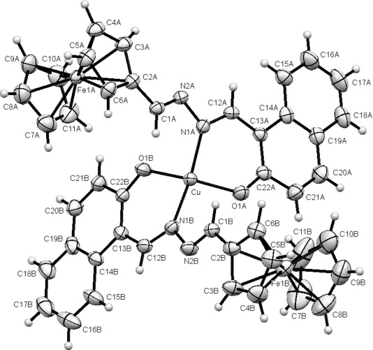 Two Novel Unsymmetrical Ferrocene Based Azines And Their Complexing