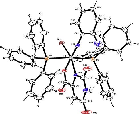 Dimeric Rheniumiv And Monomeric Rheniumi And V Complexes Of