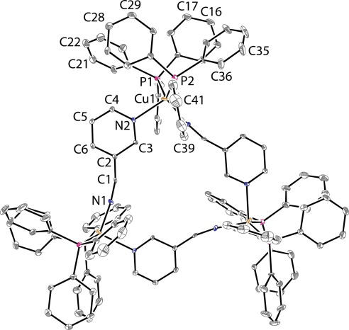Copperi Oligomers And Polymers With Dicyanobenzene And