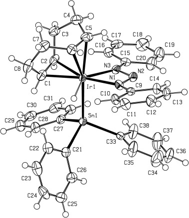 Triazenide Complexes Of Iridium Evidence For Ir1 N3ph2hn3ph2