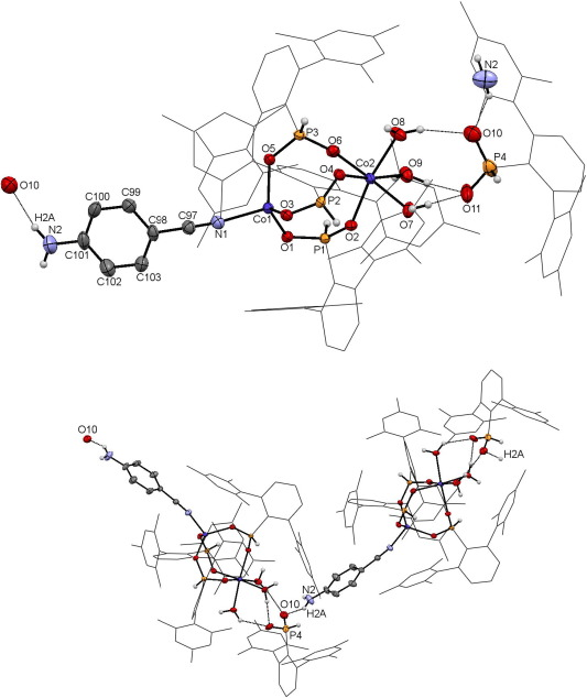 Discrete Bimetallic Coii Phosphinate Complexes Supported By 26