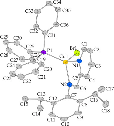 Steric Demands In The Formation Of Heteroleptic Cui Complexes With