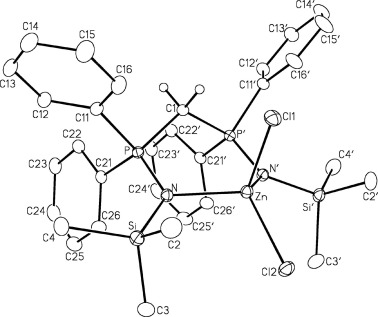 Synthesis And Structures Of Bisiminophosphoranomethanide Chelate