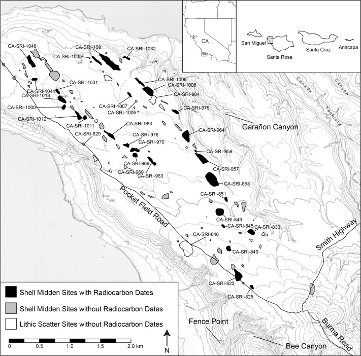 Technological change and interior settlement on western Santa Rosa