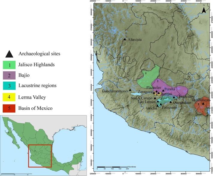 Assessing The Prehispanic Settlement Of The Lerma Valley During