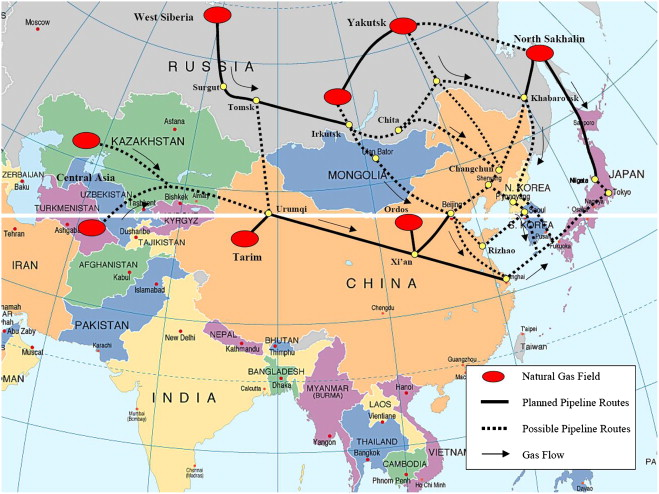 Northeast Asia regional energy infrastructure proposals ScienceDirect