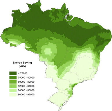 Scenarios for solar thermal energy applications in brazil annual energy savings for large scale heating system in brazil for the following heating system configuration 140 m2 flat plate solar collector with a gumiabroncs Gallery