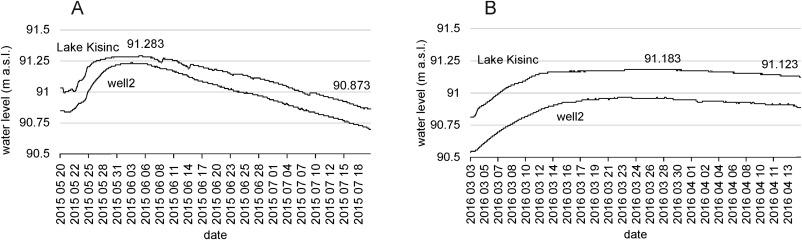 An environmental assessment of water replenishment to a floodplain