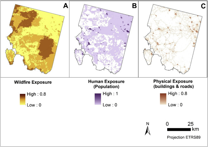 Mapping wildfire vulnerability in Mediterranean Europe Testing a