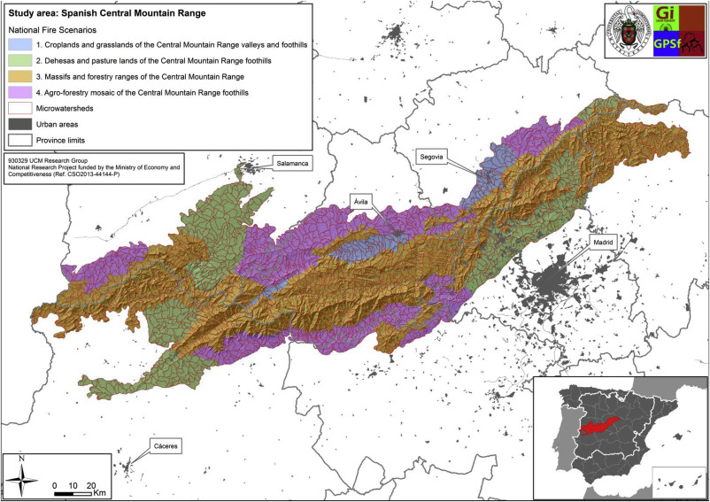 Regional fire scenarios in Spain Linking landscape dynamics and