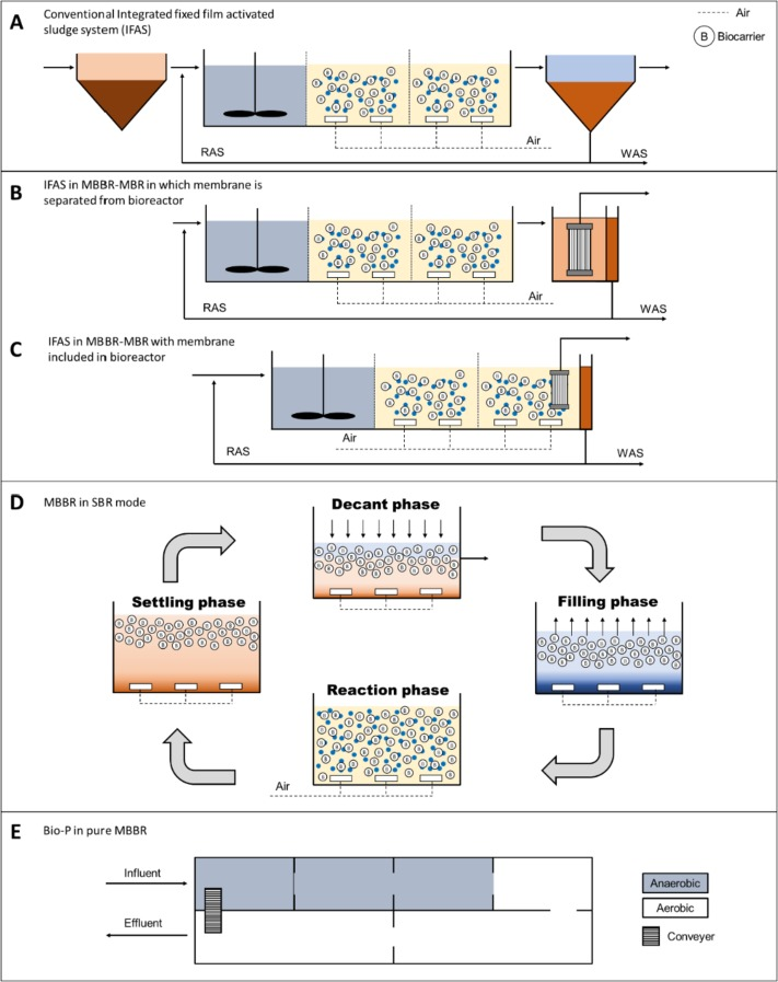 Moving bed biofilm reactor technology in municipal wastewater