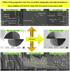 Effect of the progressive tool wear on surface topography
