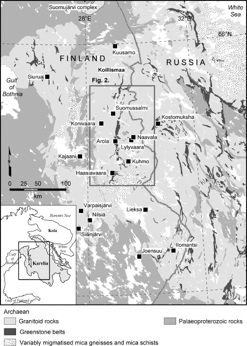 Growth Of Archaean Crust In The Kuhmo District Eastern Finland U