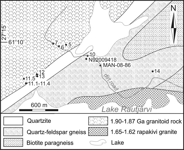 Paleoproterozoic Lateritic Paleosol Ultra Mature Mature Quartzite