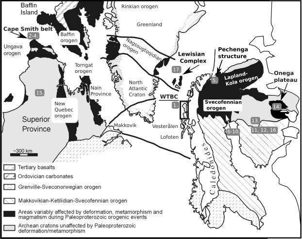 Palaeoproterozoic 2 01 95 Ga Pre Orogenic Supracrustal Sequences