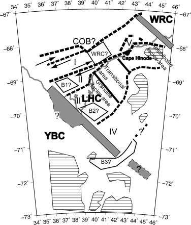 Geological Structures Inferred From Airborne Geophysical Surveys