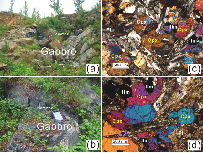 Mesoproterozoic high Fe–Ti mafic magmatism in western Shandong
