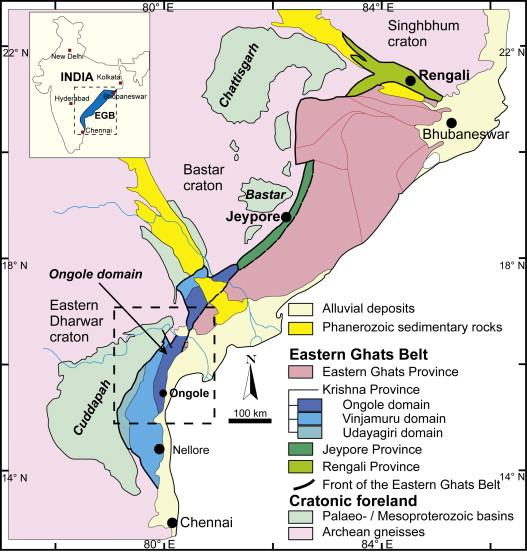 Eastern Ghats Location