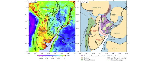 Western Paraná Suture Shear Zone And The Limits Of Rio Apa