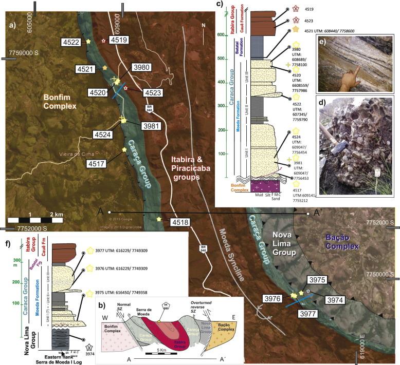 Geologic Map San Jose Quadrangle%0A    Field observations