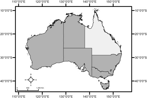 Australia Map Vegetation.Using A U Net Convolutional Neural Network To Map Woody Vegetation